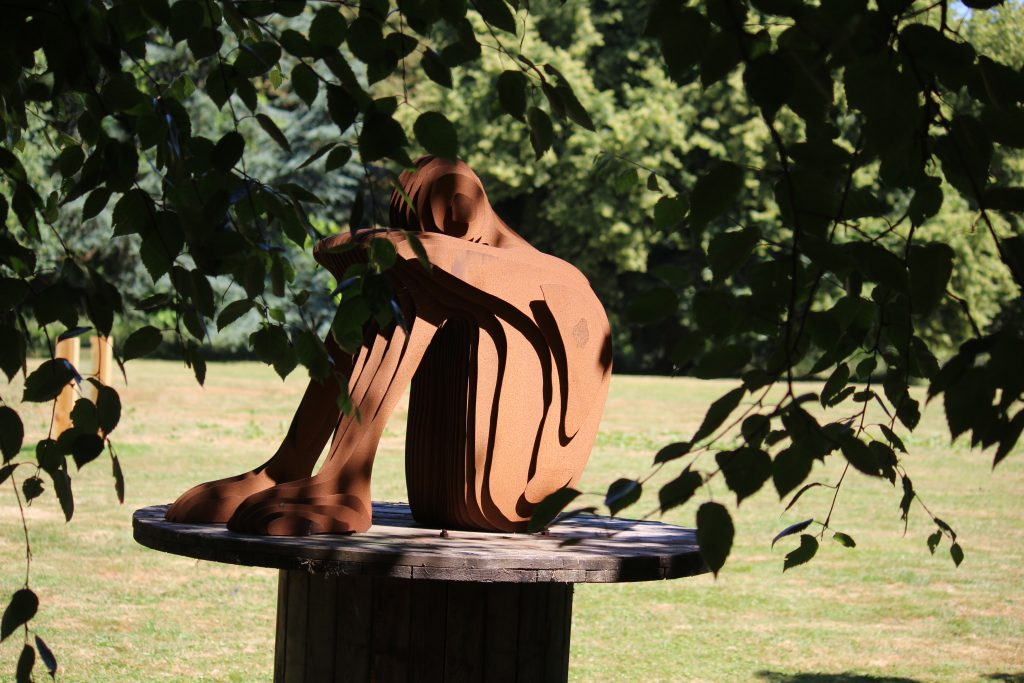 One sculpture by Tom Hiscocks